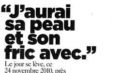 Affaire Lejar, article Magazine Le Monde