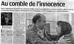 Affaire Patrick Chabert : Au Comble de l'innocence